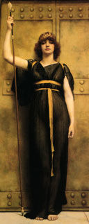John-William-Godward---A-Priestess